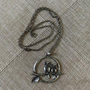 Owls Pendant Necklace